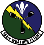 164TH WEATHER FLIGHT patch