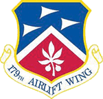 179TH AIRLIFT WING patch
