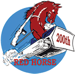 200TH RED HORSE SQUADRON patch
