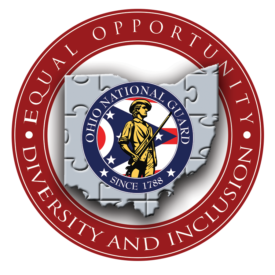 Ohio National Guard  Equal Opportunity - Diversity and Inclusion logo