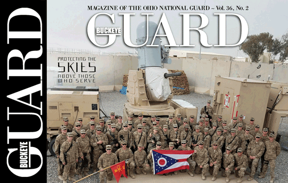 Cover of March/April Buckey Guard Magazine