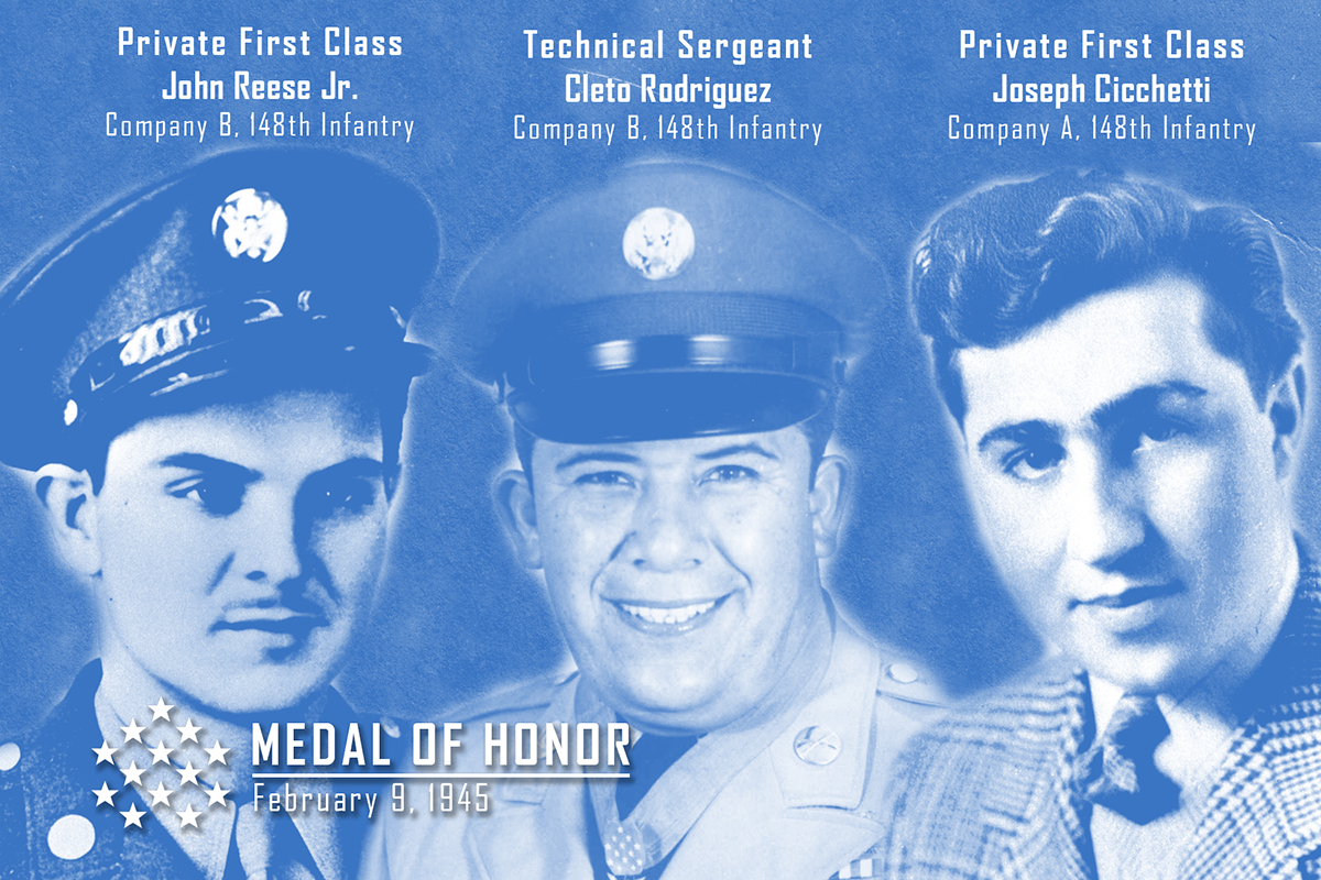Medal of Honor trio graphic