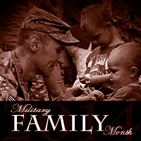 November is Military Family Month
