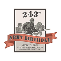 243rd Army Birthday logo