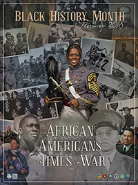 Black History poster from DEOMI with link to website resources