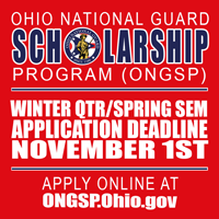 Deadline for ONGSP application for Winter Quarter/ Spring Semester is November 1.  Late applications will not be accepted through the ONGSP office. Click to go to application page.