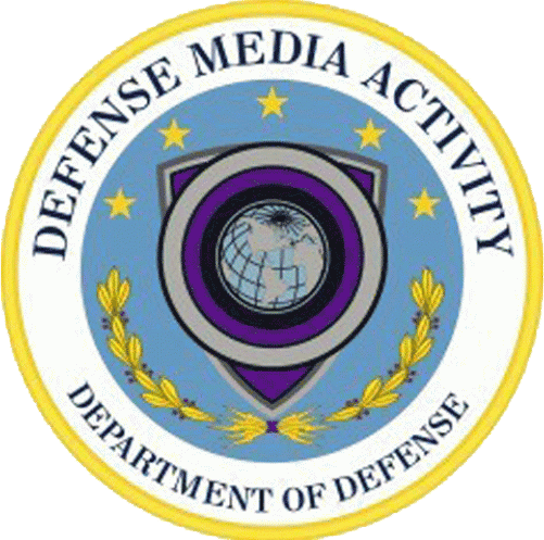 Defense Media Activity logo for the Department of Defense