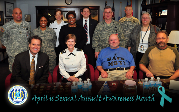 Sexual Assault Awareness Month program April 9, 2013, at the Maj. Gen. Robert S. Beightler Armory in Columbus, Ohio.