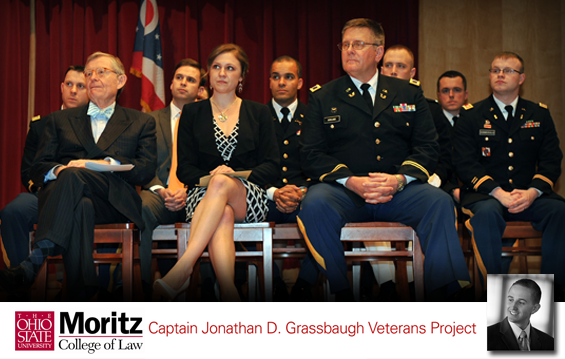 kickoff event April 5, 2013, for the Jonathan D. Grassbaugh Veterans Project