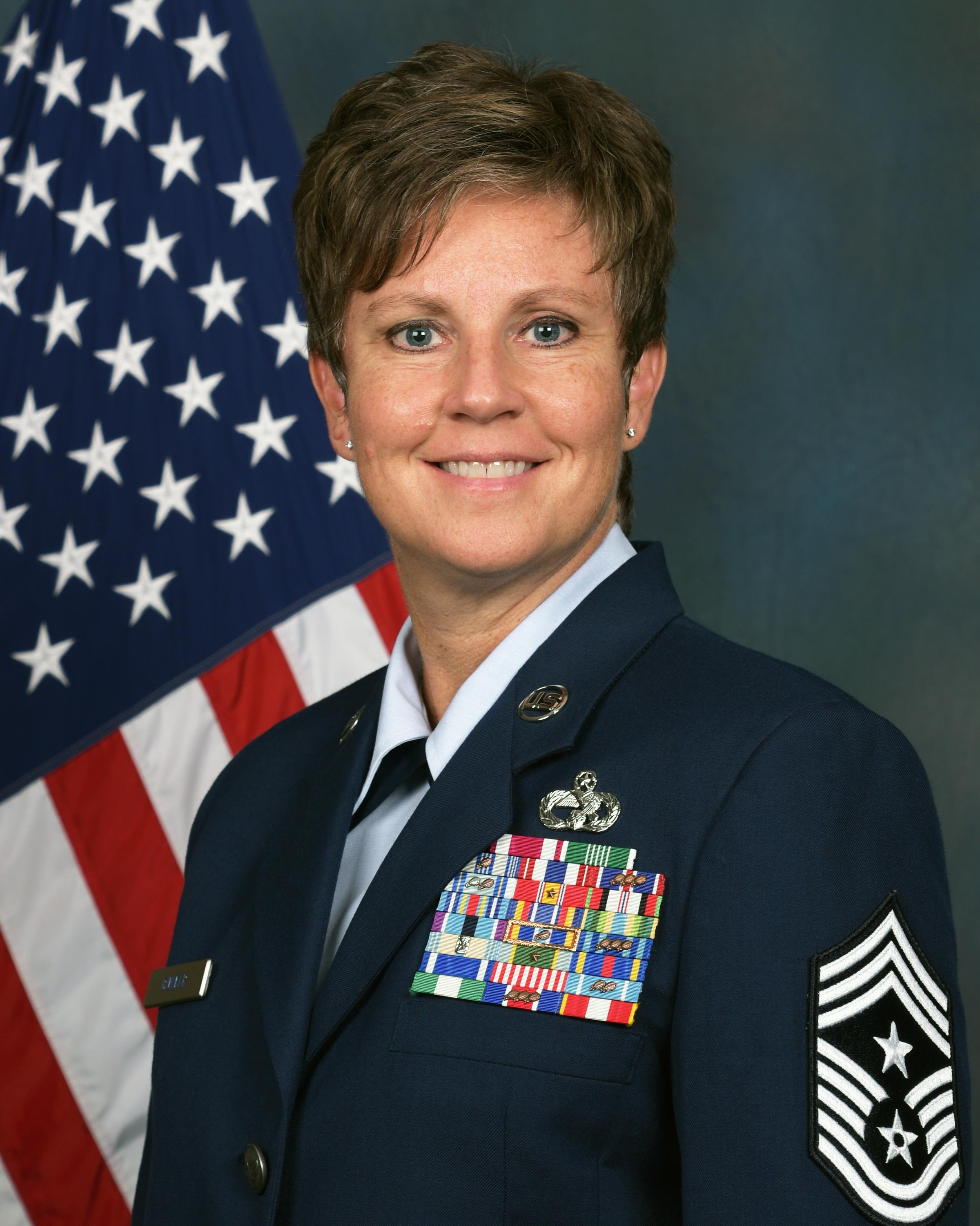 Official photograph for Ohio Air National Guard State Command Chief