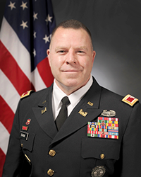 Official photo of Col. Daniel Shank, Assistant Adjutant General for Army