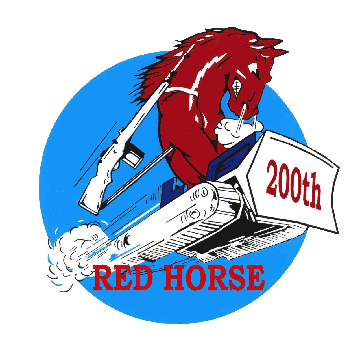 200th RED HORSE patch