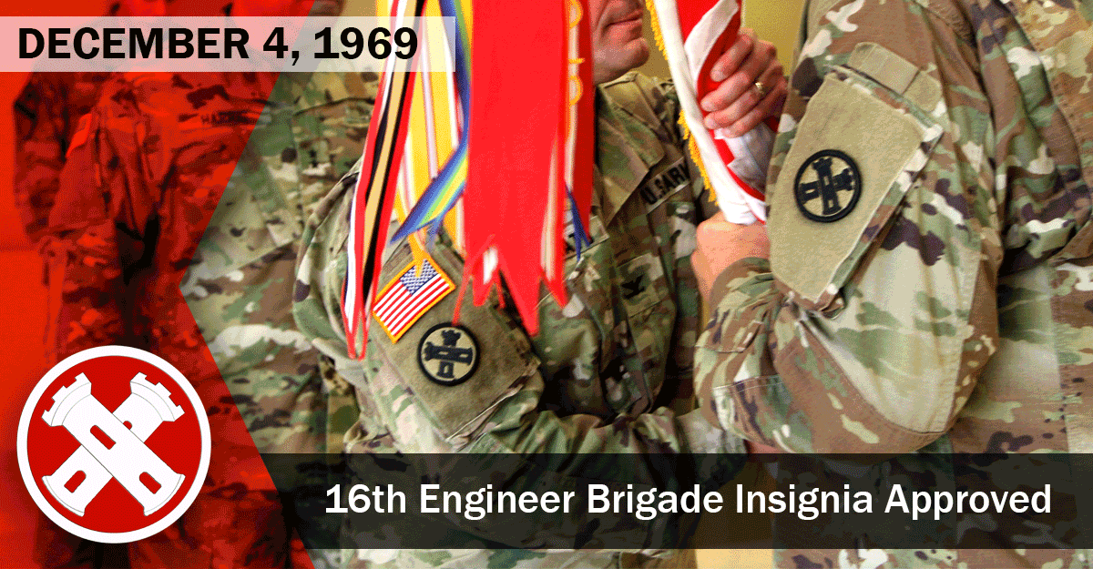 Soldiers change colors, showing insignia on uniforms.