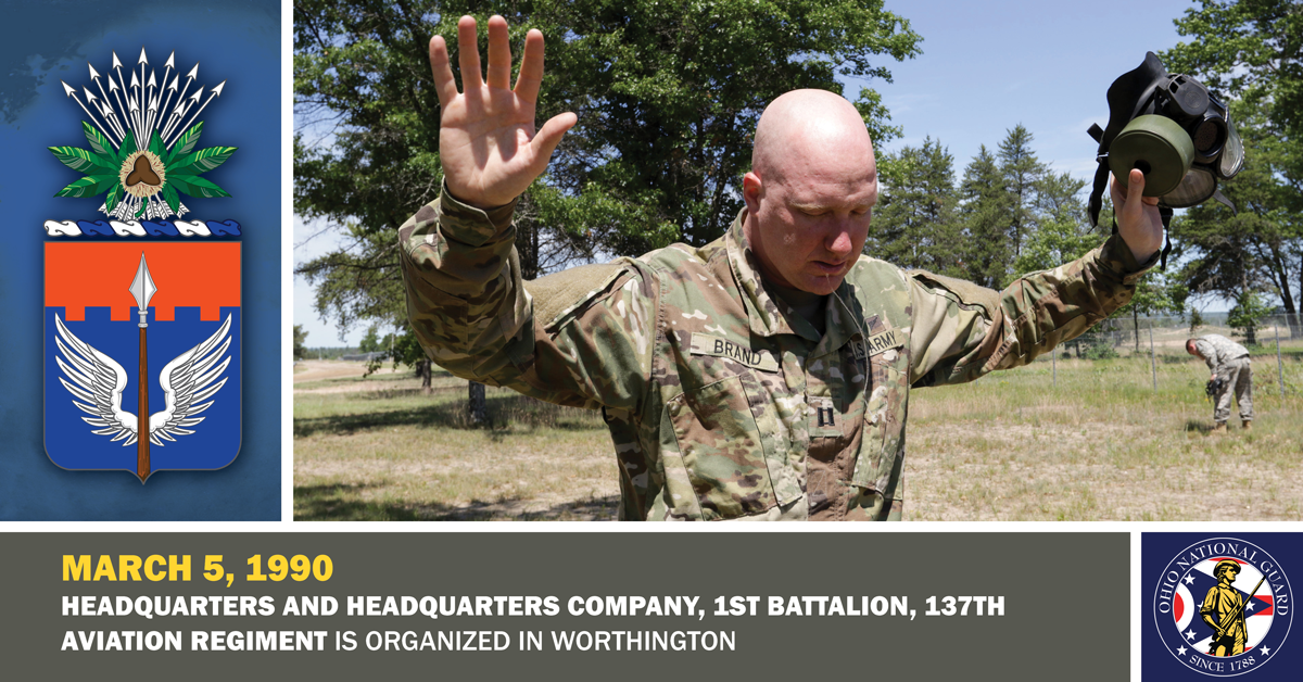 Capt. Jason Brand tries to catch his breath outdoors after leaving the CS gas chamber
