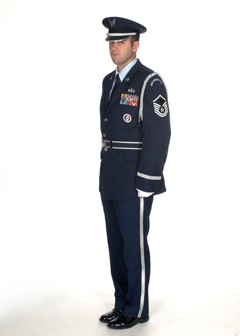 Honor Guard Program Manager: Master Sergeant Eli Keyser