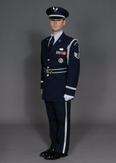 Honor Guard Member Of The Year: Staff Sergeant Brian Raines