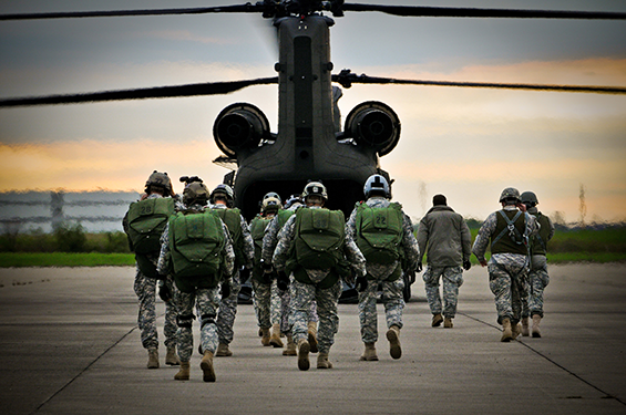 Ohio National Guard: Semi-annual Special Forces recruiting brief ...