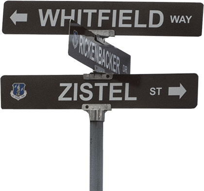 Whitfield Way road sign