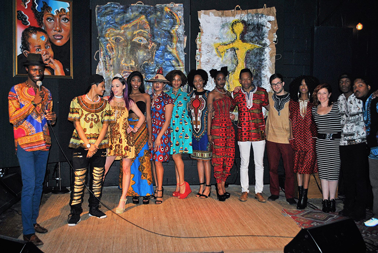Afro-Deliciouz event: an educational community experience that unites people from different backgrounds through music, art and fashion.