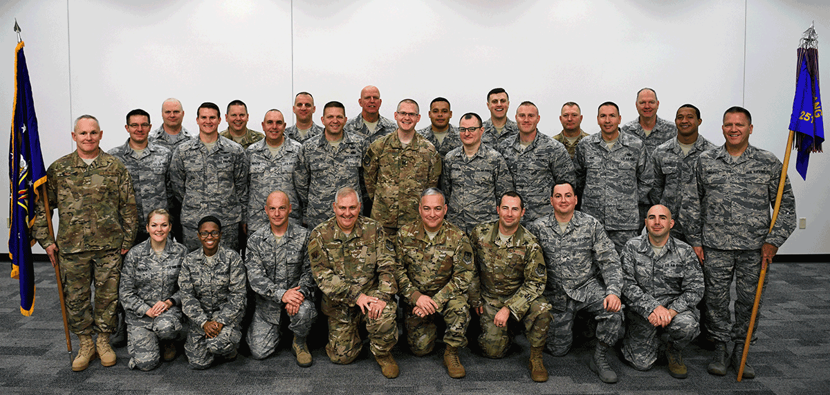 Group pic of 251st Cyberspace Engineering Installation Group