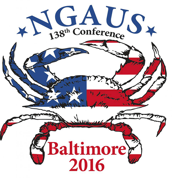 NGAUS logo for 138th Conference - 2016