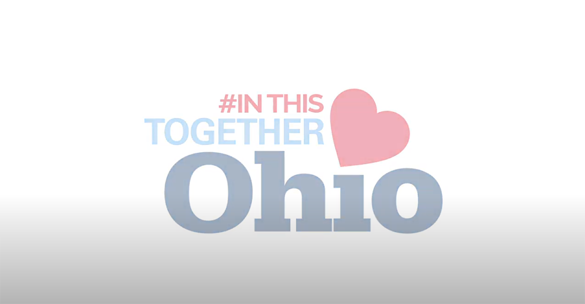 #IN THIS TOGETHER Ohio logo